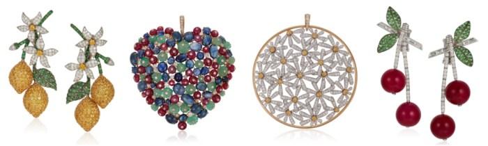 Michele della Valle jewels headed for sale at Christie's