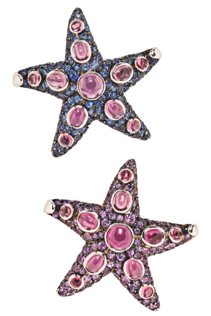 René Boivin starfish brooches from Tiina Smith