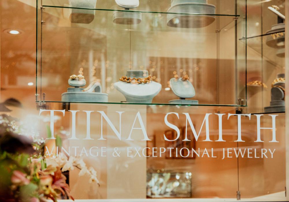 Tiina Smith's Boston-based jewelry store
