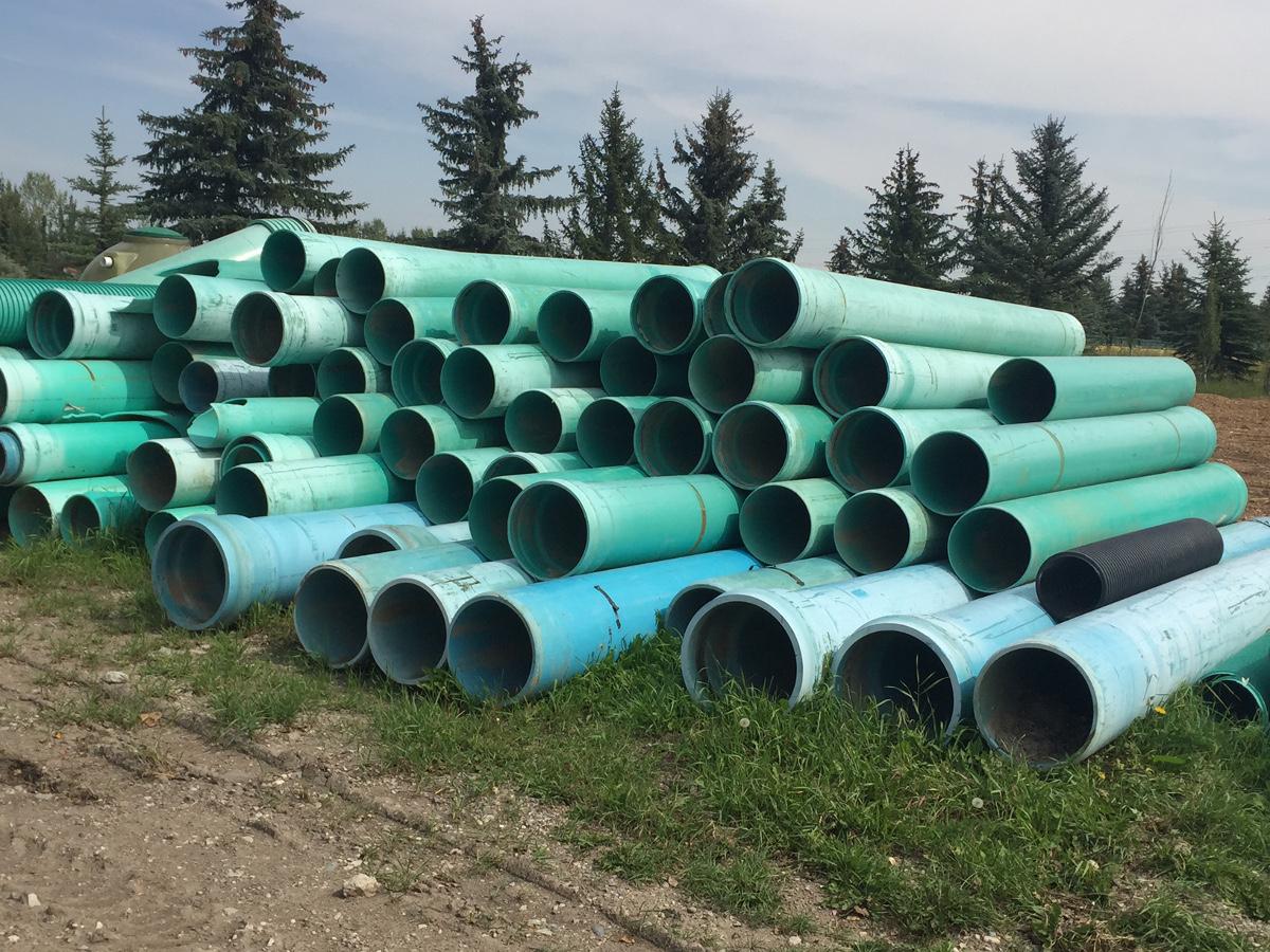 hight resolution of surplus pipe culvert diamond tank calgary alberta