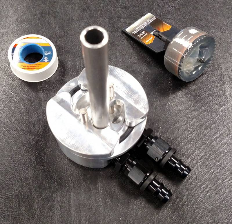 Fuel Tank Bottom Sump Kit With Integrated Return