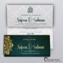 Muslim Wedding Cards Mehndi Walima And Ic