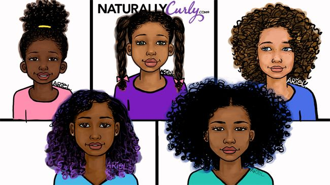 Age Appropriate Hairstyles For Curly Kids Naturallycurly Com