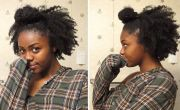 4c ninja bun braid- tutorial