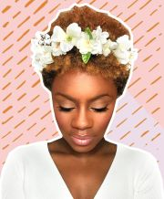 5 gorgeous wedding natural hair