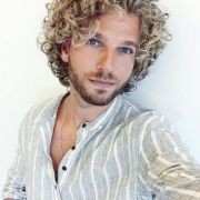 curly guy hair care