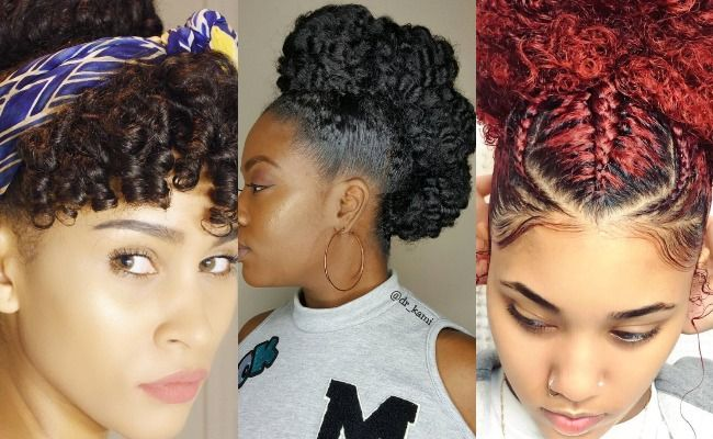 8 Gorgeous Springtime Updos For Naturally Curly Hair