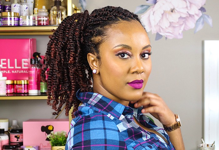 How To Do A Spring Twist Style Naturallycurly Com