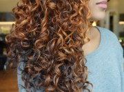 popular curly hair colors