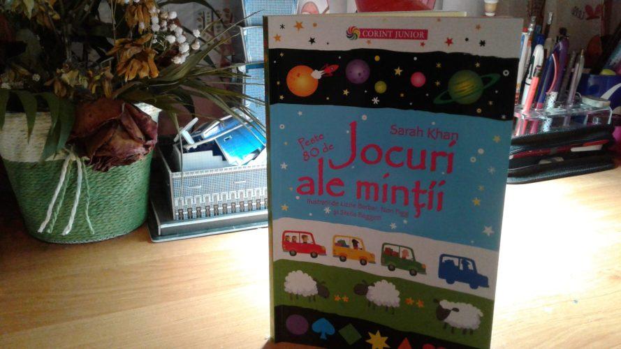 Jocuri ale minții, o carte ce crește cheful de distracție!