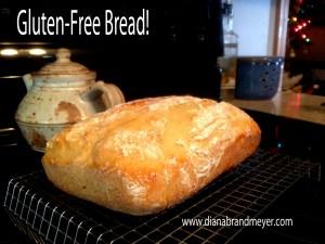 Shoesting bakes Glutenfree bread