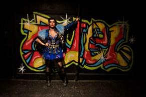Lorelei Prince and Quel Beast. photo courtesy of David Eisenberg.
