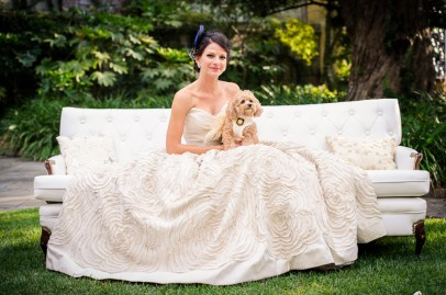 Bridal Portrait at William Aiken House in Charleston, SC