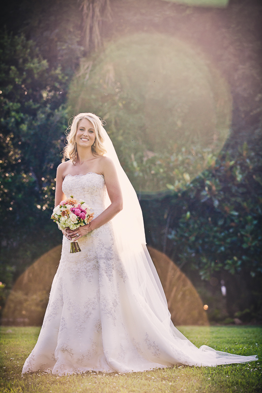 Bride at Magnolia Plantation Carriage House