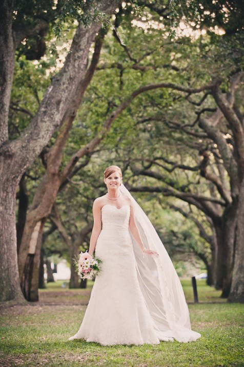 Charleston Battery Whitepoint Gardens Bridal Session