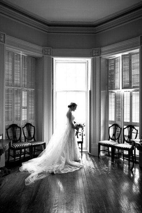 Historic Charleston Home Bridal Session
