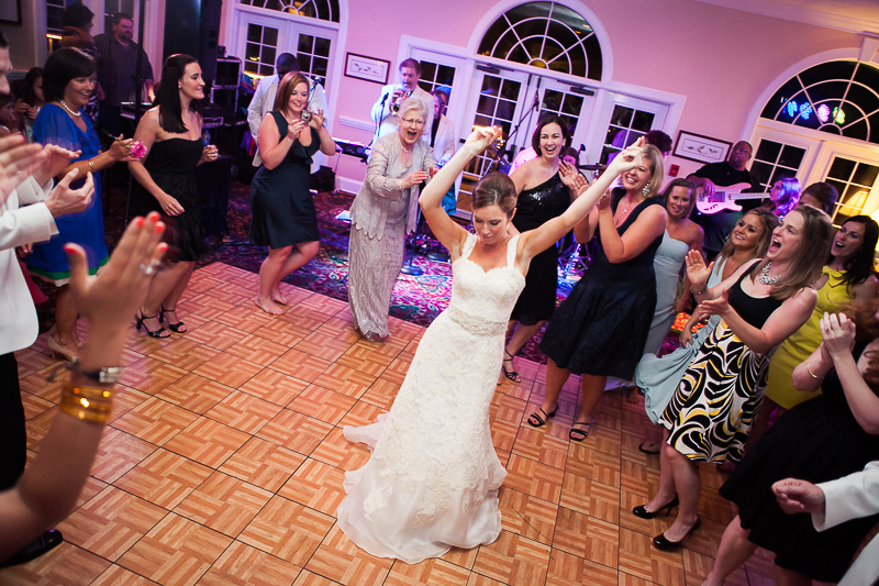 Charleston Wedding Reception Photographs
