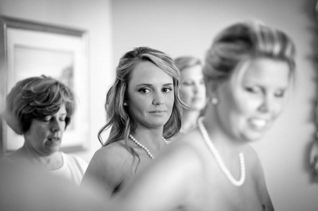 bride's maids preparation