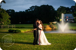 wedding at old wide awake plantation