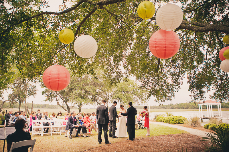 wedding ceremony lanterns