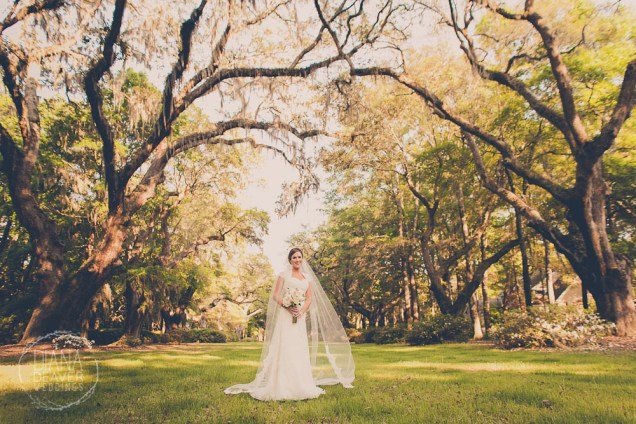 Bridal Portrait Kimbels at Wachesaw Plantation Pawley's Island Wedding Photographer (5)