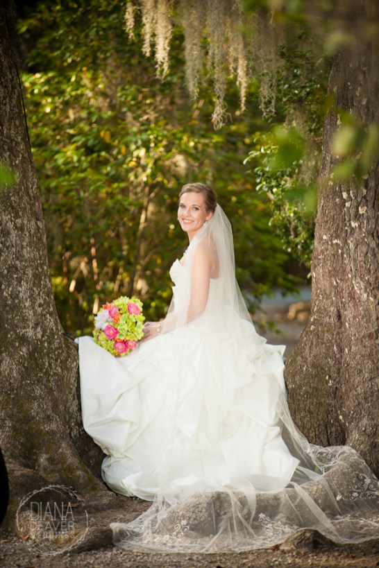 Bridal Portrait Magnolia Plantation Charleston Wedding photographer (31)