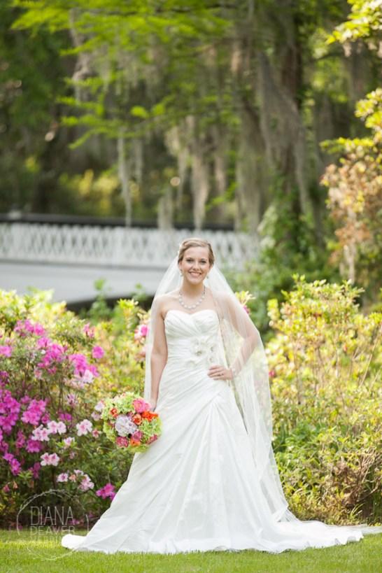 Bridal Portrait Magnolia Plantation Charleston Wedding photographer (4)