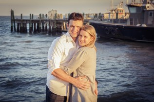 engagement session downtown Charleston SC American Theater-2