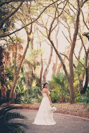 bride on kiawah