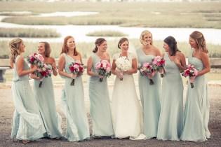 blue long assimetrical bride'smaids dresses (2)