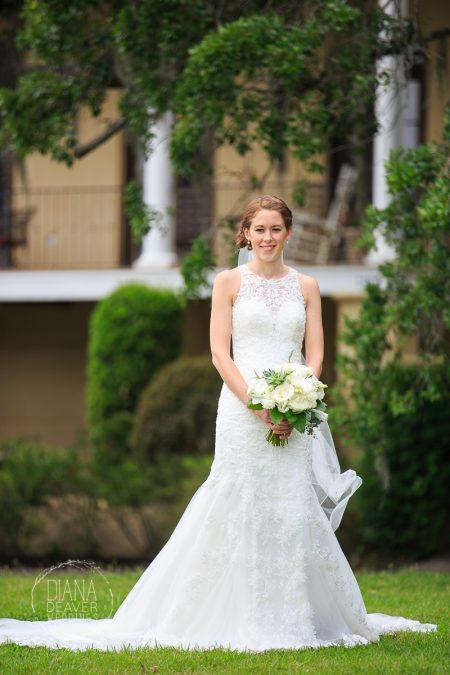 bride portrait diana deaver weddings