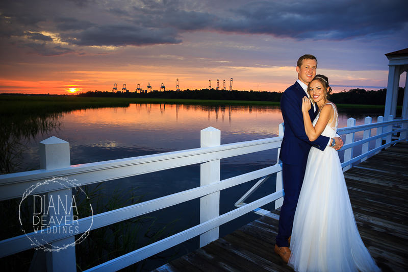 diana deaver weddings wedding photographer photography bride and groom wedding day photos creek club at ion wedding venue charleston sc