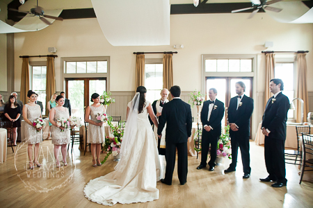 indoor ceremony at the creek club charleston sc (2)