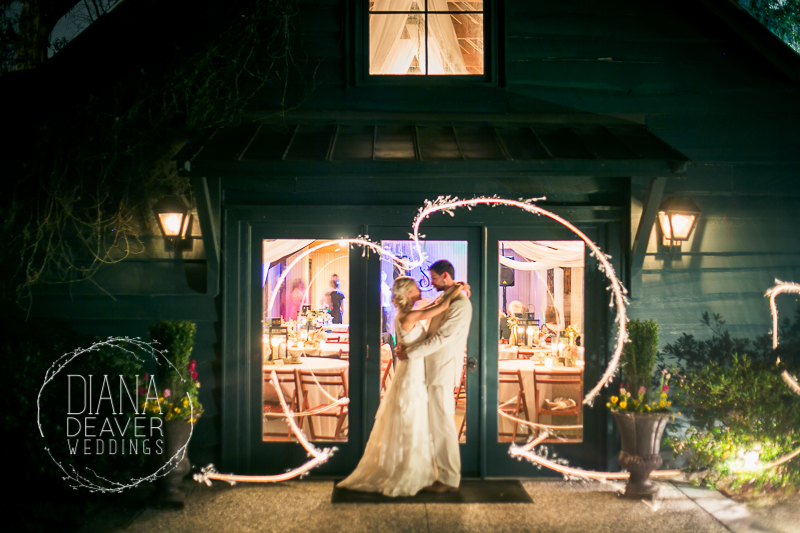 Best Wedding Photos Sparkler Send Off at the Carriage House at Magnolia Plantation Charleston SC photographed by Diana Deaver Weddings