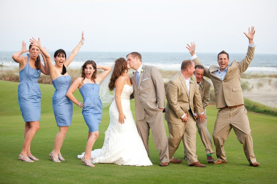 wedding party kiawah island