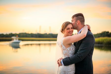 wedding photos at the creek club at i'on mount pleasant diana deaver weddings