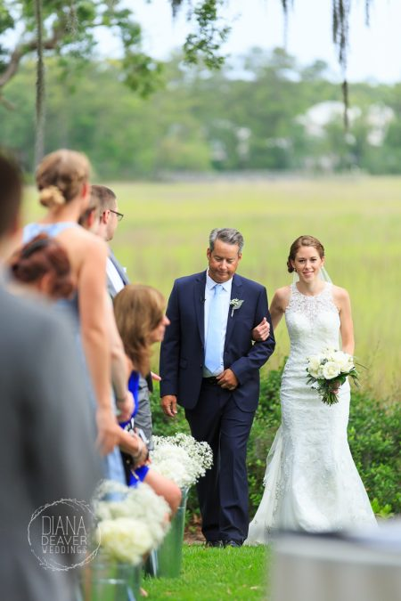 wedding ceremony ion creek club charleston sc
