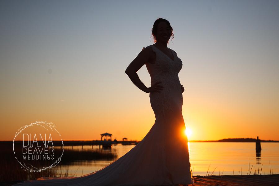 Folly Beach Wedding Regatta Inn Charleston SC Photographer Diana Deaver Weddings