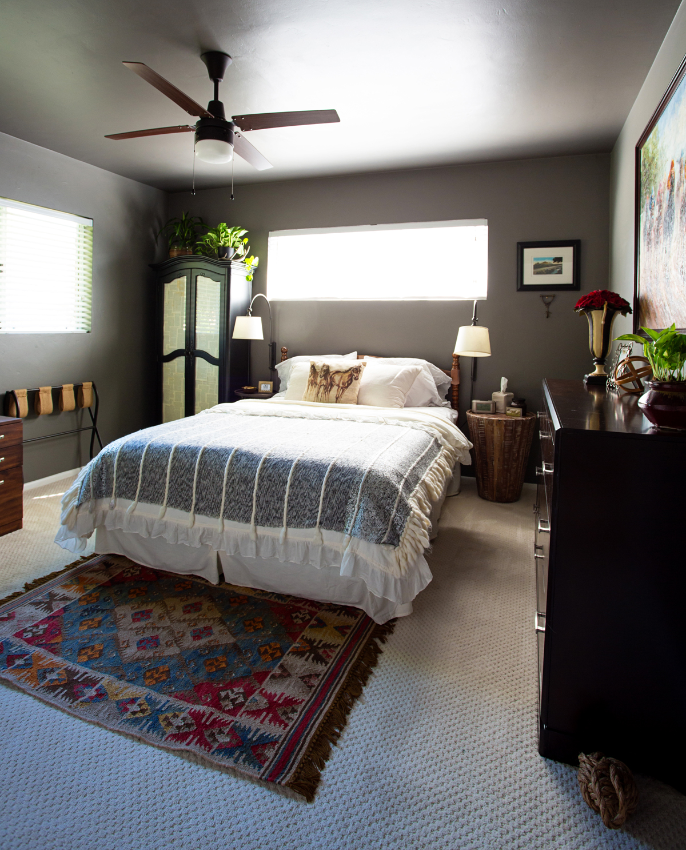 home office guest room. Martha-stewart-paint-zinc-walls-kingston-dresser-big- Home Office Guest Room
