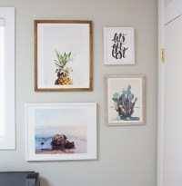 Styling a Gallery Wall of Art Prints