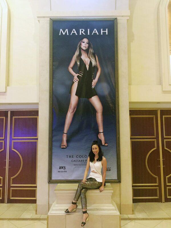 Mariah Carey in Vegas, again!