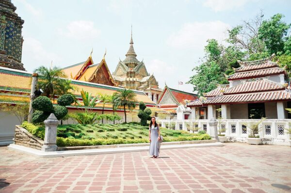 Temples + Floating Market in Bangkok