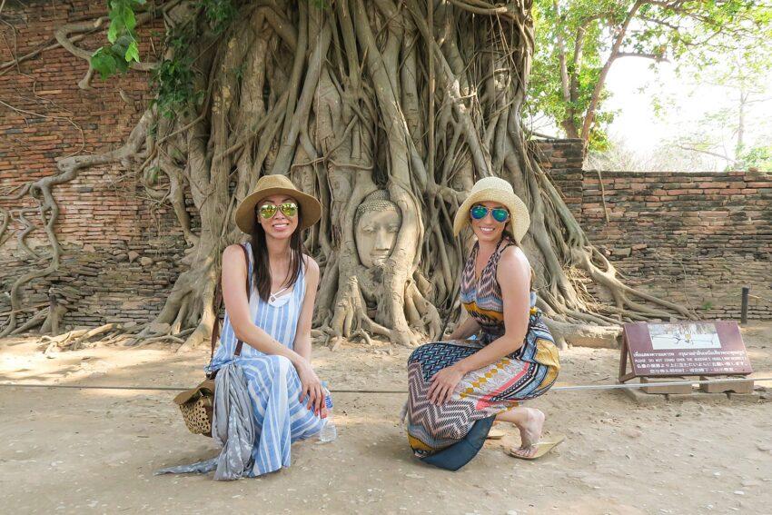 Historic Ruins in Ayutthaya
