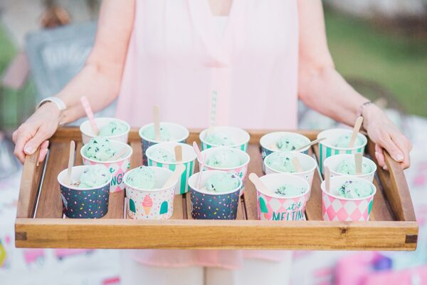 ice cream sprinkle baby shower party idea