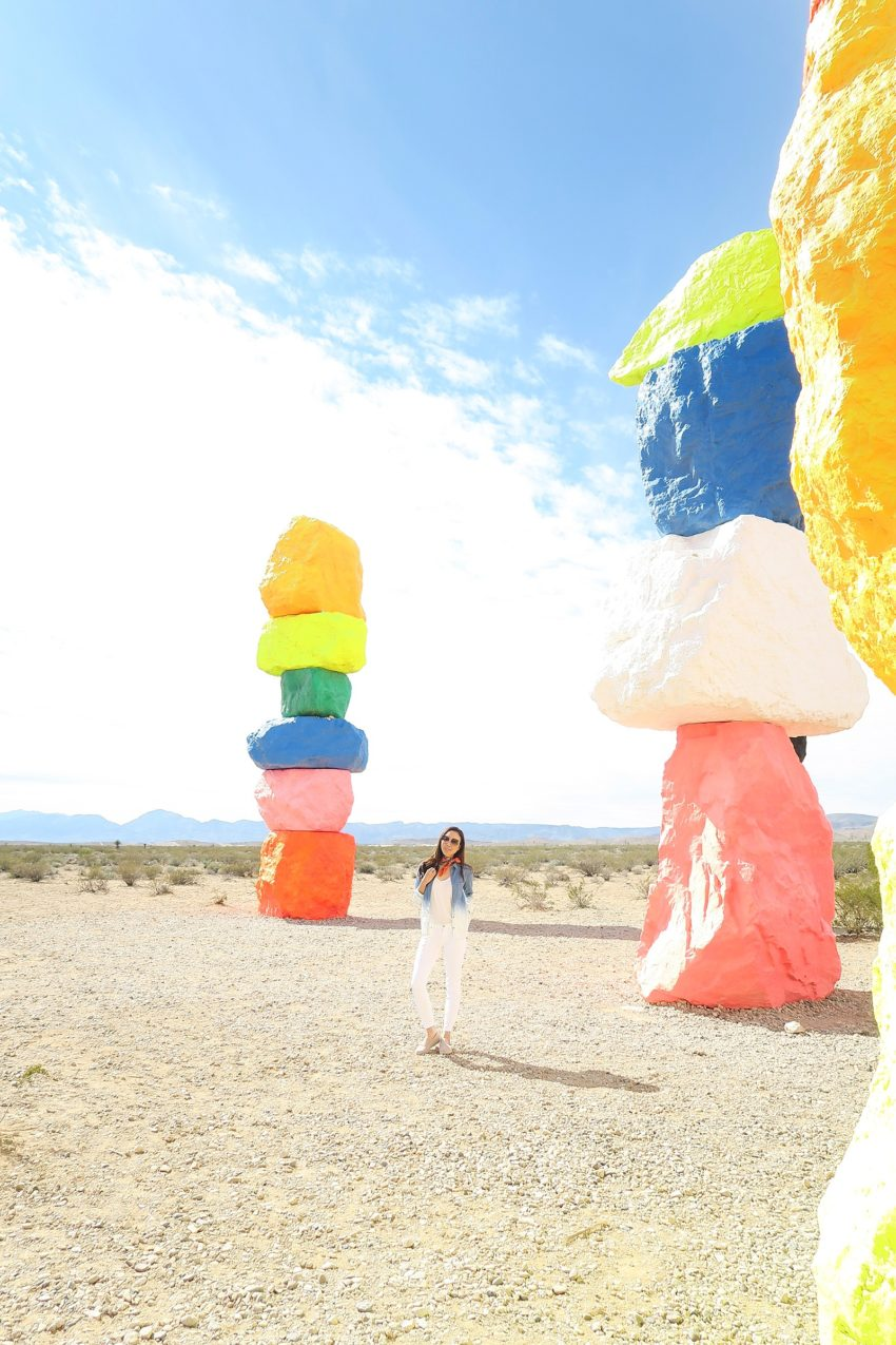 Pop Art - Seven Magic Mountains in Vegas