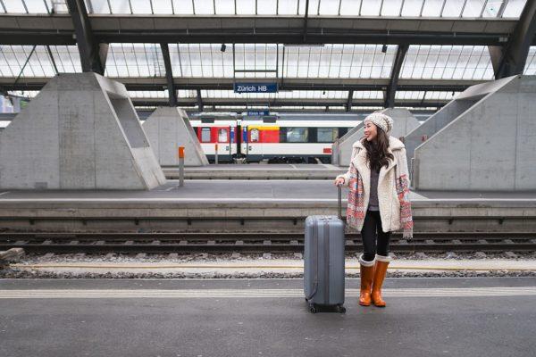 Traveling around Switzerland by Train