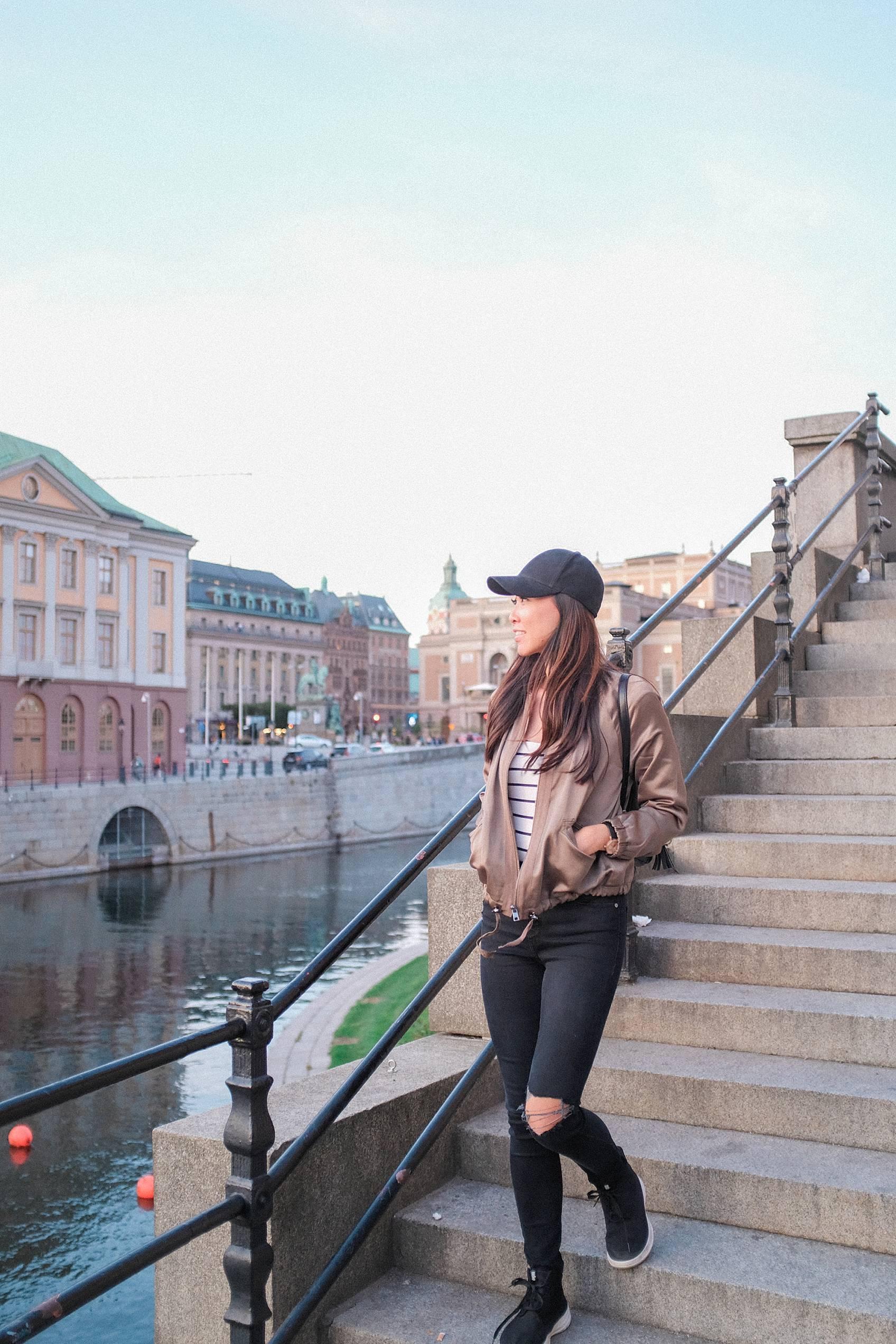 Photo tour of Stockholm: walking around