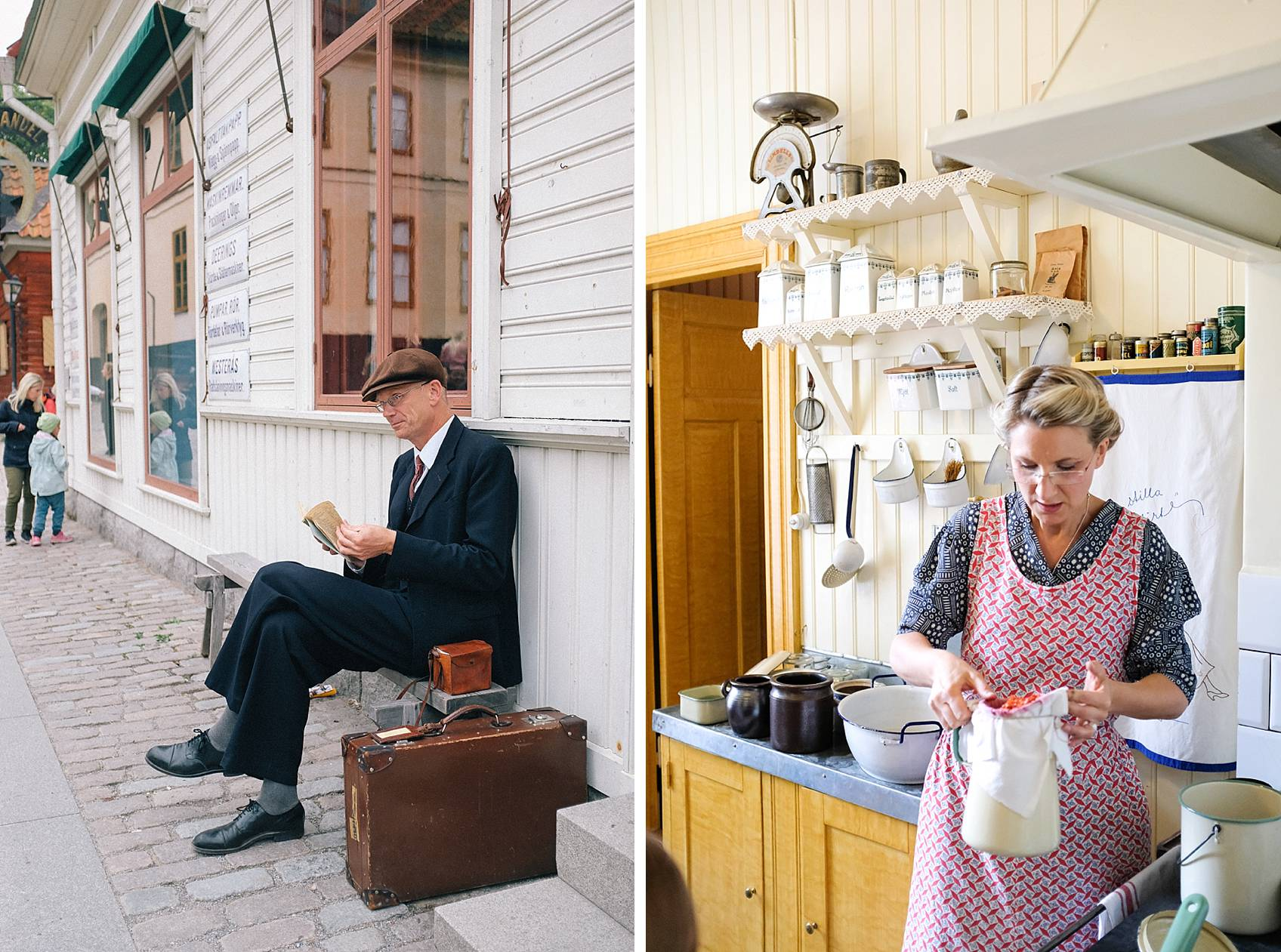 Photo tour of Stockholm: skansen characters