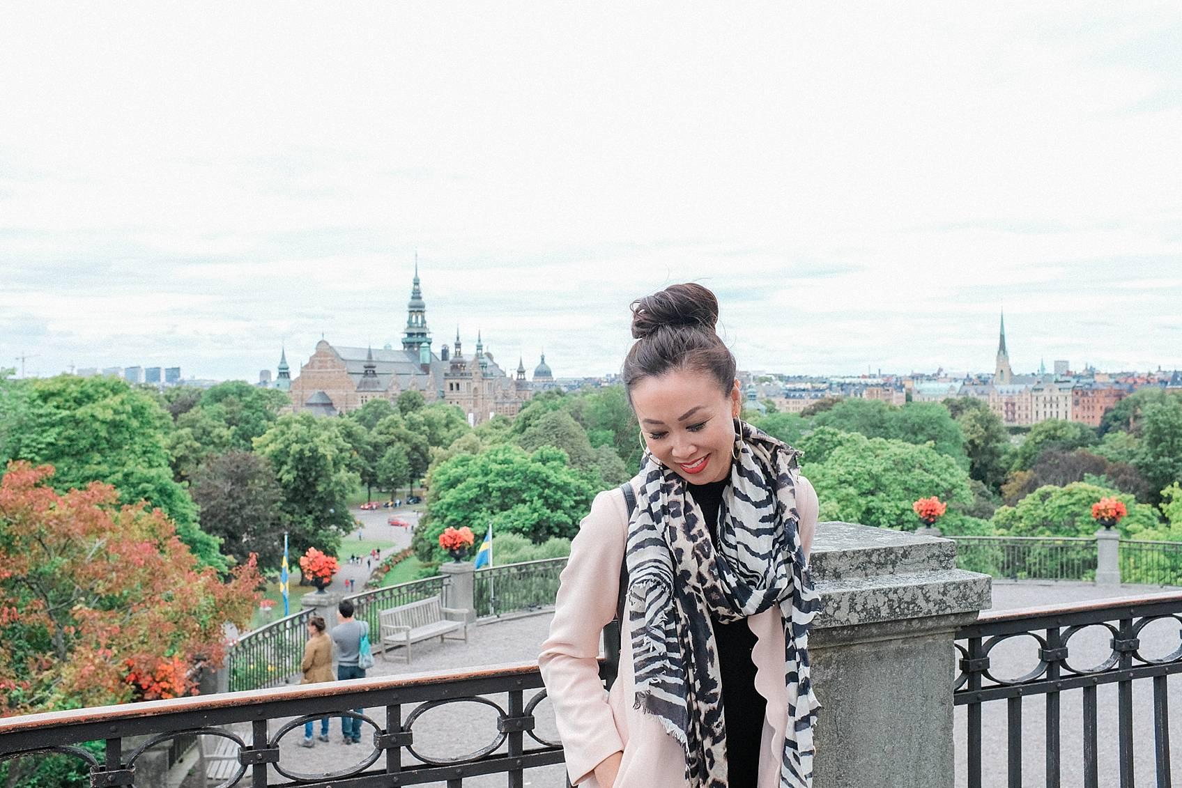 Photo tour of Stockholm: skansen view of Stockholm