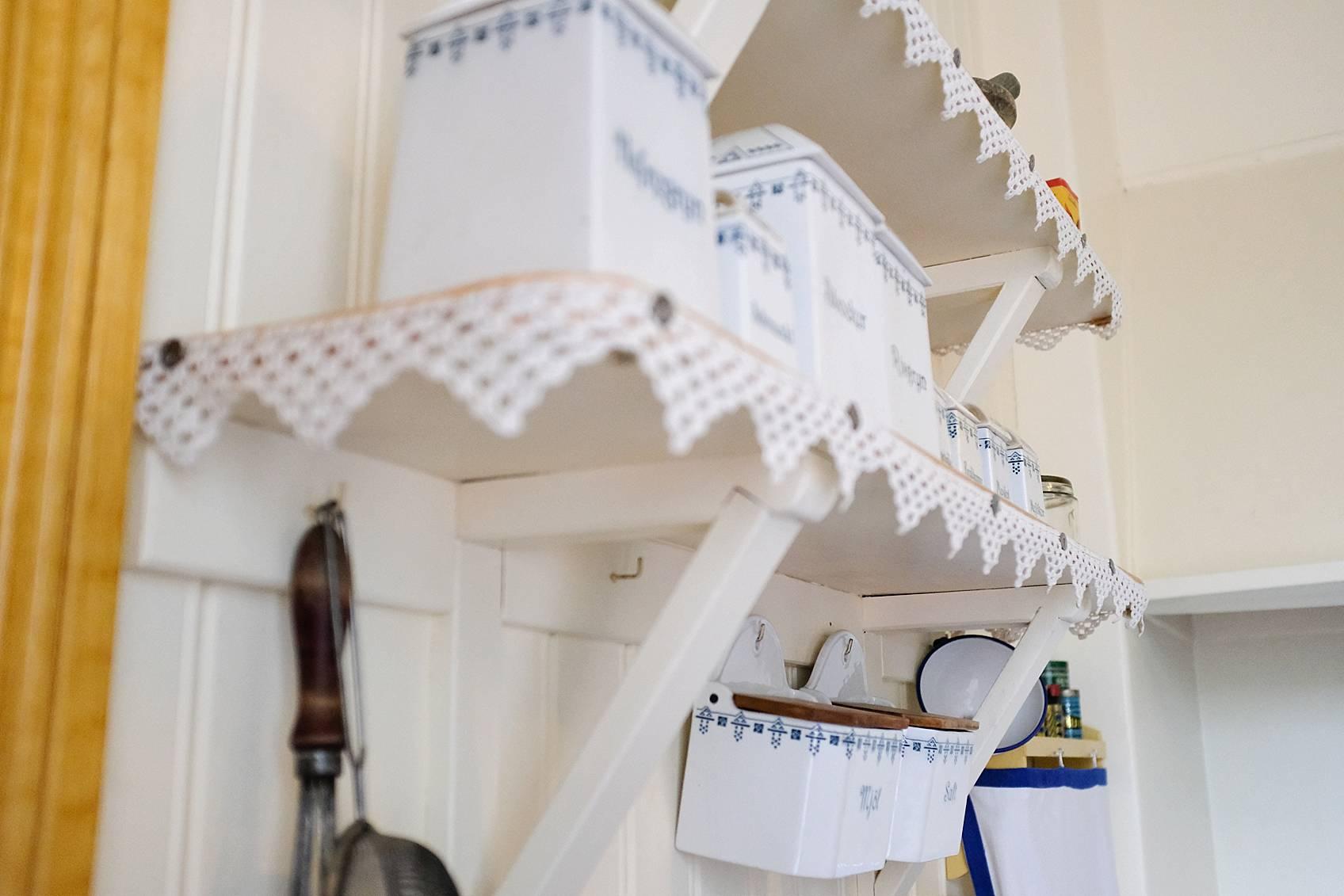 skansen stockholm cottage living decor for inspiration, inside shelving in kitchen